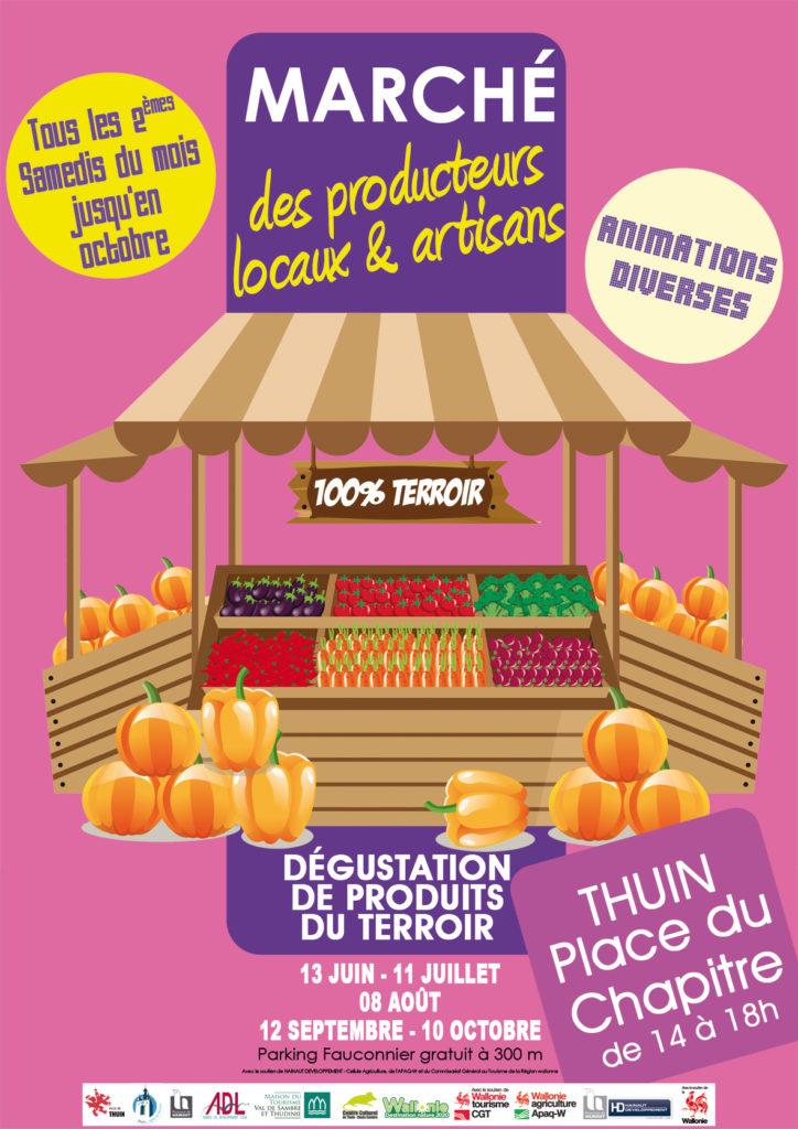 Le marché des producteurs locaux et des artisans fait son retour le samedi 13 juin sur la Place du Chapitre ! Il se déroulera de 14h à 18h comme lors des éditions précédentes. Plus d'informations à venir prochainement !!