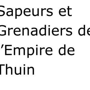 Sapeurs et Grenadiers de l'Empire de Thuin