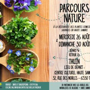 PARCOURS NATURE à la découverte des plantes comestibles sauvages en Haute Sambre (GRATUIT)