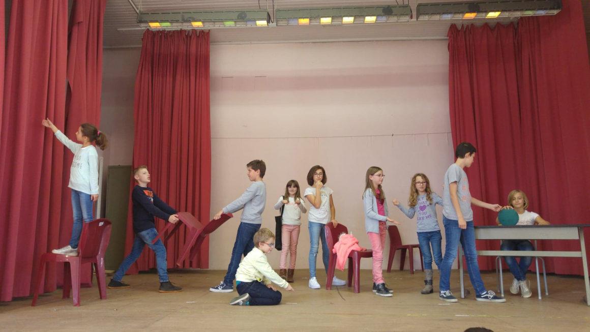 Atelier théâtre pour enfants à Gozée