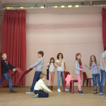 Reprise de l'atelier théâtre pour enfants à partir du 7 octobre