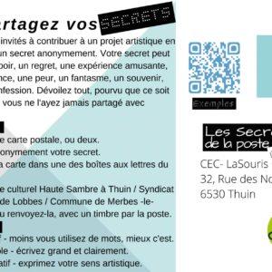 Projet «Les secrets de la poste»