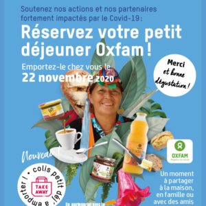 Petits déjeuners Oxfam 22/11/2020