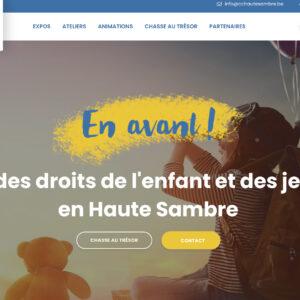 «EN AVANT 2.0 !  La Fête des Droits de l'Enfant et des Jeunes en Haute Sambre !