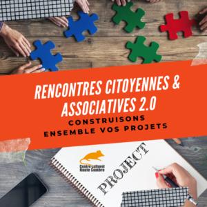 Rencontres citoyennes et associatives 2.0