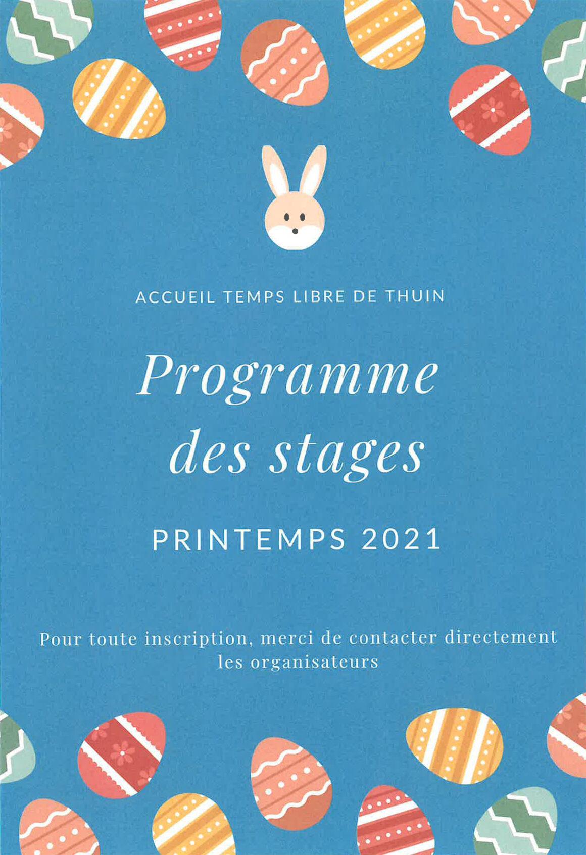 ATL : Stages de printemps 2021