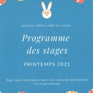 ATL : Stages de printemps 2021