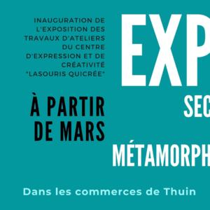 Exposition des travaux d'ateliers du CEC «LaSouris QuiCrée»