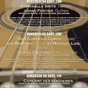 10ème anniversaire du stage international de guitare