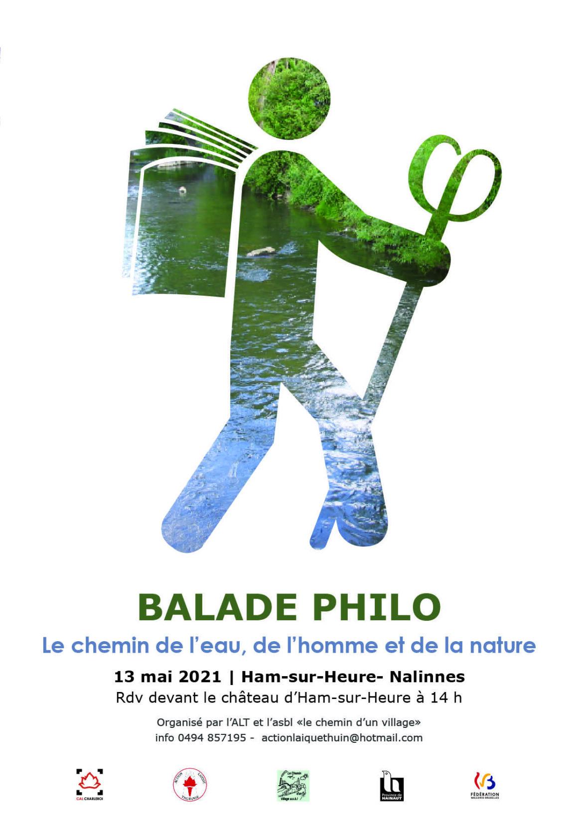 BALADE PHILO : Le chemin de l'eau, de l'homme et de la nature.