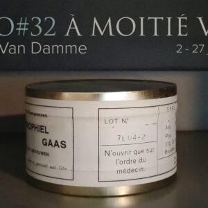 Prolongation de l'Expo#32 «à moitié vide» Gerda Van Damme