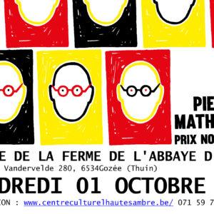 Café-spectacle : «PRIX NOBELGE» de et avec Pierre Mathues