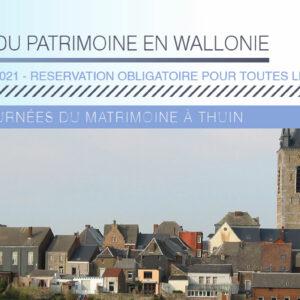 JOURNÉES DU PATRIMOINE 2021 : Circuits guidés à Thuin
