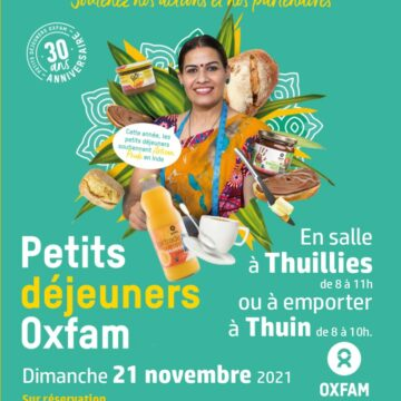 Les petits déjeuners « solidaires » d'OXFAM